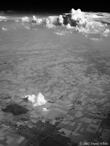 IR Clouds from the air #1