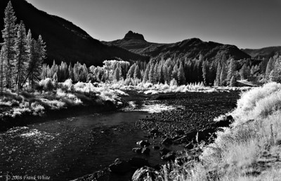 Clarks Fork Yellowstone River - IR
