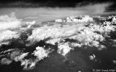 IR Clouds from the air #5
