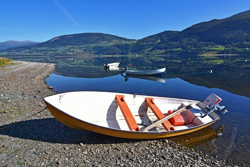 Ved Vangsvatnet på Voss