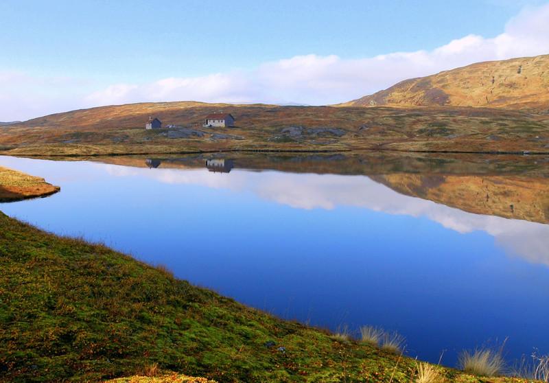 Vending DNT hytte ved Hamlagrø