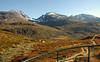 Utsikt mot Hurrungane i Jotunheimen<br /> <br /> Hurrungane in Jotunheimen mountain area
