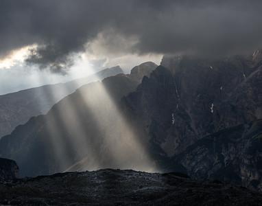 God Beams on a Ridge
