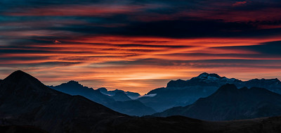 Dolomite Sunset III