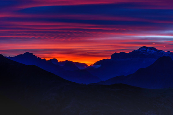 Dolomite Sunset I