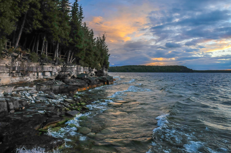 Stormy Shoreline