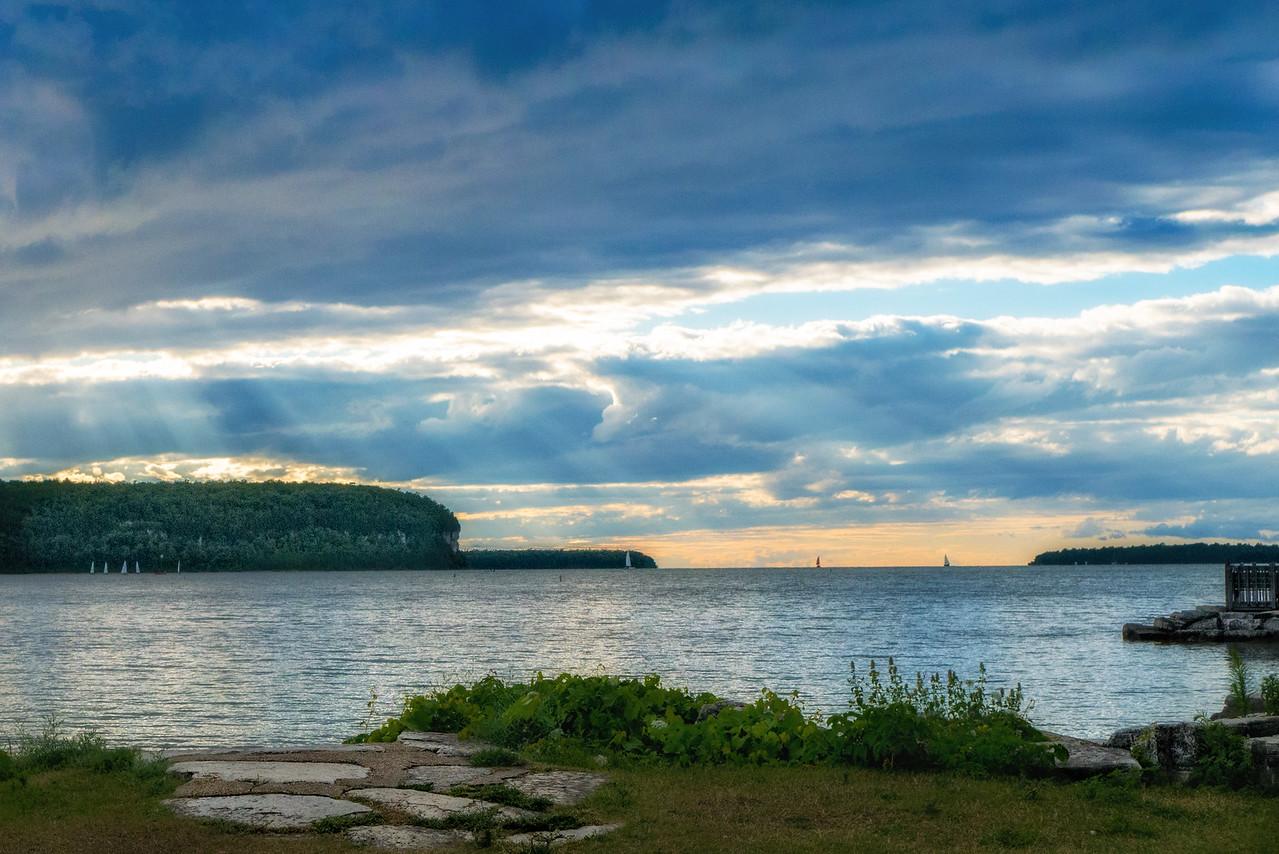 Eagle Harbor Evening