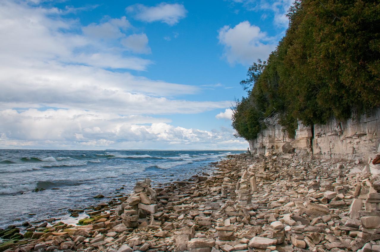 Door Bluff Shoreline