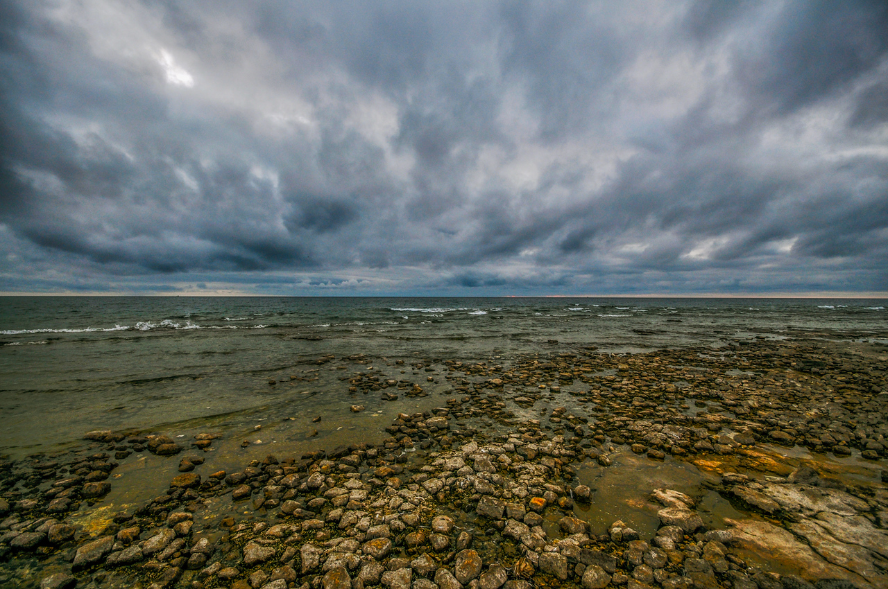 The Approaching Storm - Cana Island