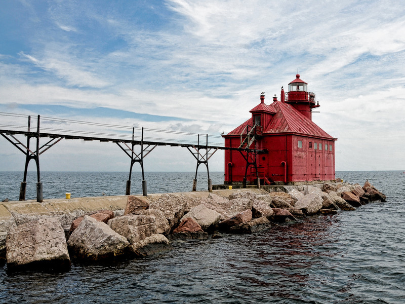 North Pierhead Lighthouse