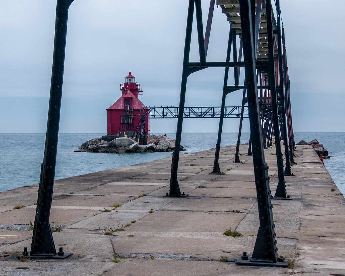 North Pier And Lighthouse