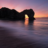 Before dawn, Durdle Door