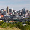 Cincinnati from Devou Park in KY