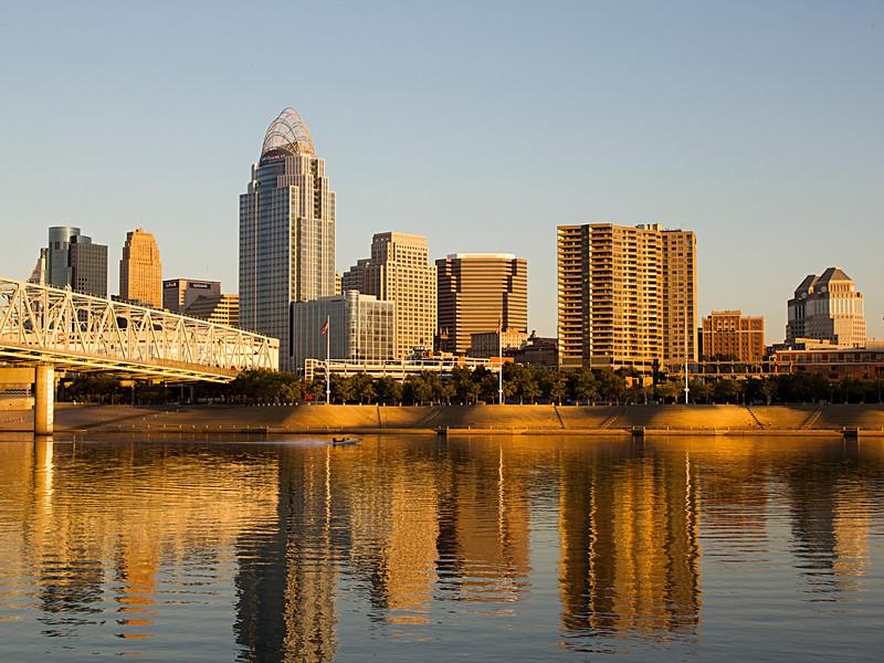 Cincinnati Morning Glow