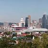 Cincinnati wide panorama