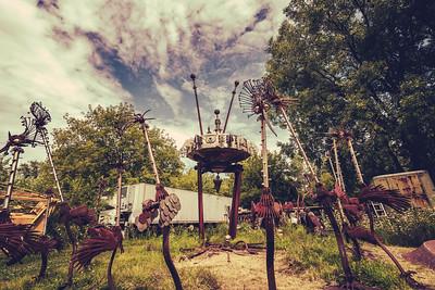 Dr. Evermor's Forevertron Sculpture Park, WI