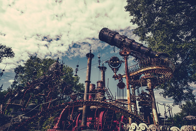 Dr. Evermor's Forevertron Sculpture Park, WI