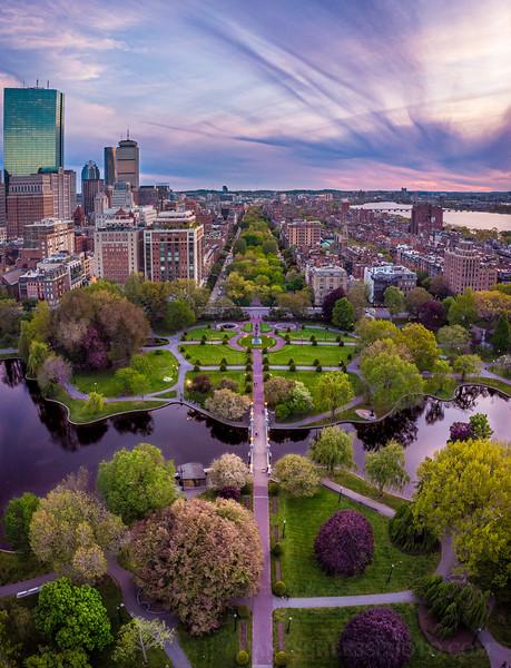 Boston Public Garden, MA