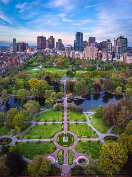 Boston Public Garden and Boston Common