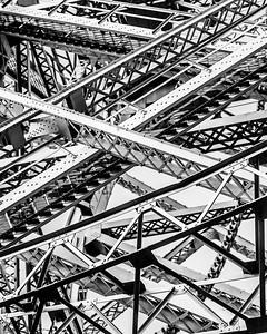 Lift Bridge Abstract