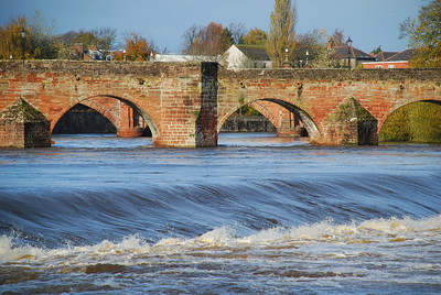 River Nith, Dumfries, Nov 2009.