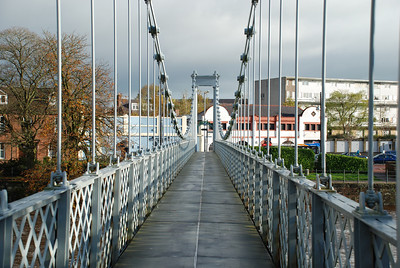 Suspension Bridge,Dumfries.