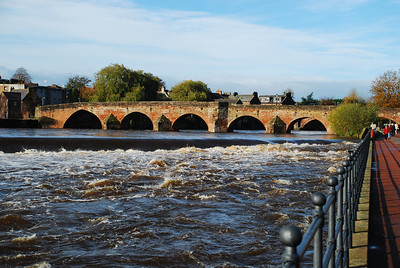 Devorgilla Bridge,Dumfries, Autumn 2009.