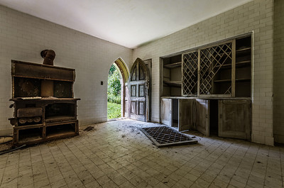 Dundas Castle, Kitchen Area