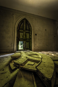 The Doors ~ Read the Story behind the Shots, History and more @ http://adwheelerphotography.com/2011/08/10/the-lonely-castle/
