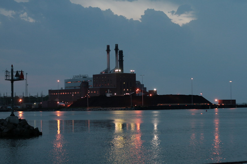 NRG Power Plant from the Dunkirk Pier.