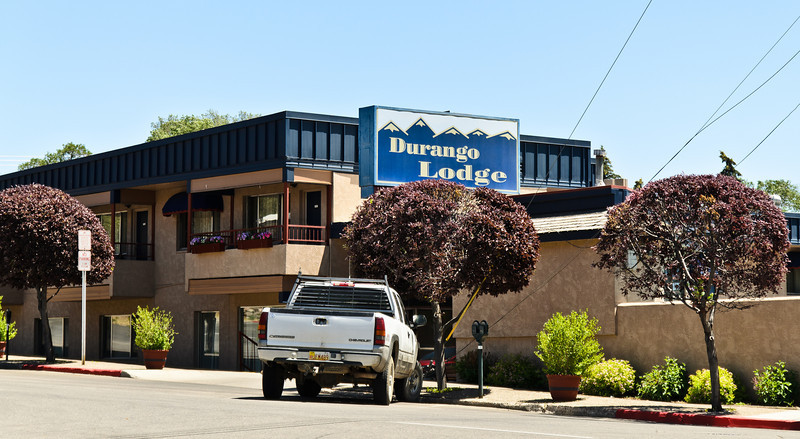 The Durango Lodge. You're definitely paying for the location here...