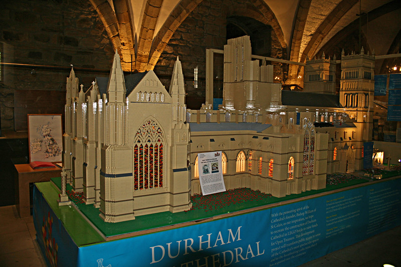 Durham Cathedral in Lego