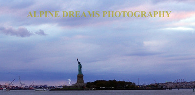 LADY LIBERTY OF THE EVENING
