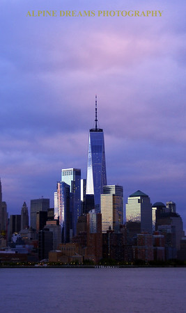 PASTEL PORTRAIT FREEDOM TOWER
