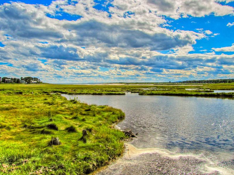 Kennbunk Bridle Path, Mousam River, Kennebunk ME.