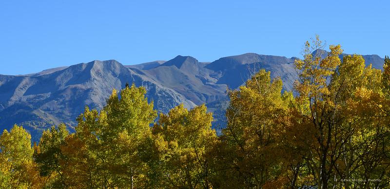 The Ruby Range in the West Elk Wilderness
