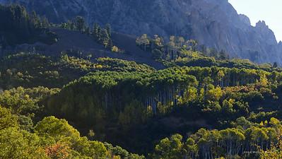 Early Autumn on the West Elk Loop, Colorado