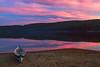 Canoe beached by north Lake Wapizagonke