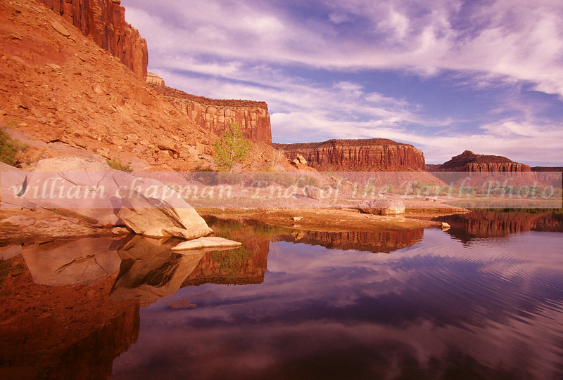 Hidden Lake of Canyonlands- Needles District