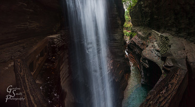 Cavern Cascade and Trail