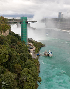 Niagara Falls Green Tower