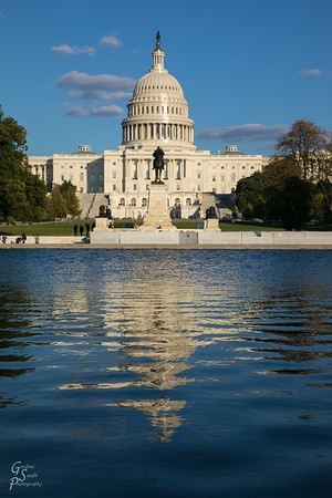 Capitol Dome and Reflecting Pond