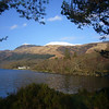February 2012. Rowardennan Youth Hostel and Ben Lomond.