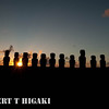 Here comes the Sun, here come the Sun and I say Its all right..- Ahu Tongariki, Rapa Nui, Chile