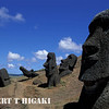 easterisland; Rano Raraku- the birthplace of all the Moias