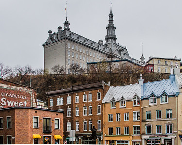 The colours of Quebec, this walled city is one of the last remaining of its kind in the world and one of the birthplaces for European settlers in Canada