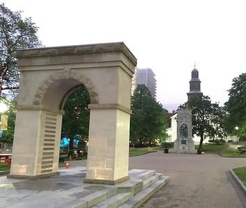 Fallen Peace Officers Memorial, Grand Parade, Halifax, Nova Scotia.