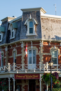Prince of Wales Hotel, established in 1864 is one of Niagara on the Lake's famous historical fixtures