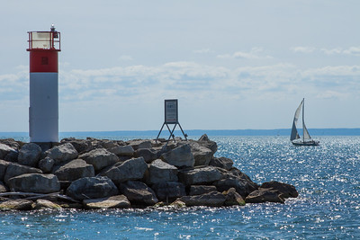 Sailing on Lake Ontario