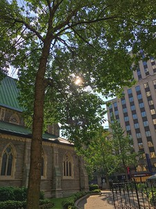 Christ Church Cathedral, Saint-Catherine Street, Montreal.